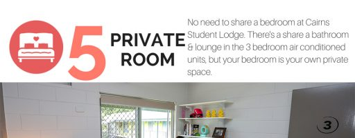 Reason Number 5 to Choose Cairns Student Lodge
