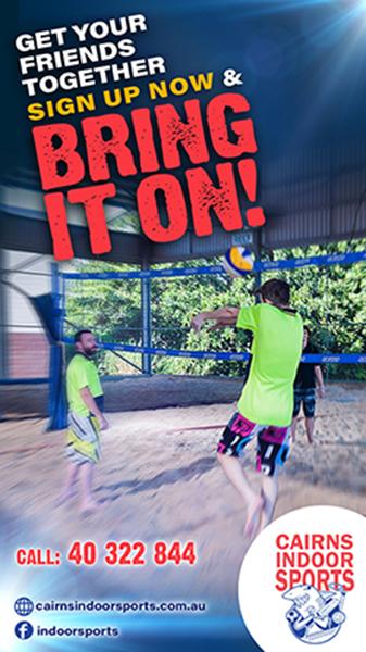 Beach Volleyball – Cairns Indoor Sports