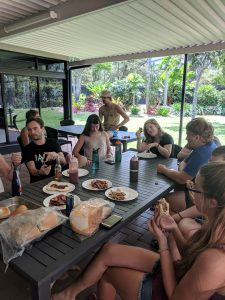 Wrap Up Party - BBQ Pit - Cairns Student Lodge