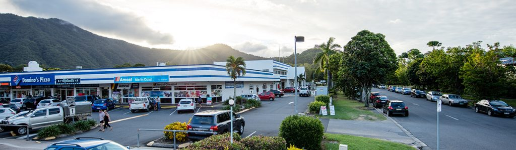Cairns Student Lodge Faculty Shops with Dominos