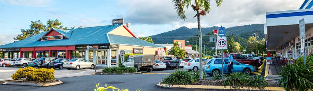 Cairns Student Lodge Faculty Shops with KFC