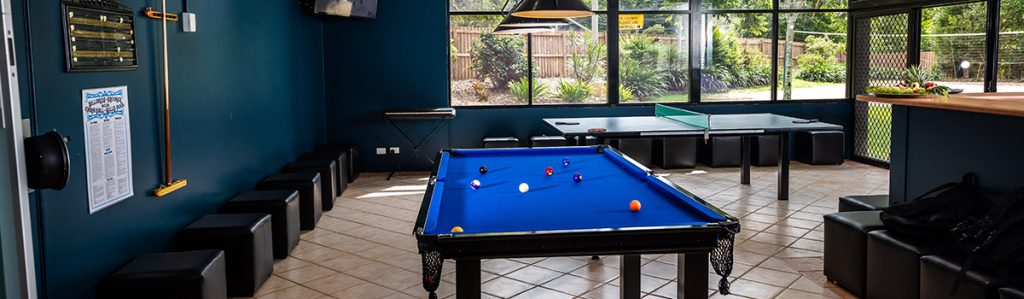 Cairns Student Lodge Games Room