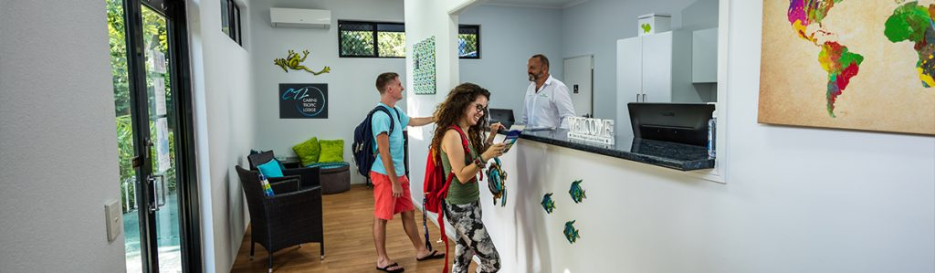 Cairns Student Lodge Reception