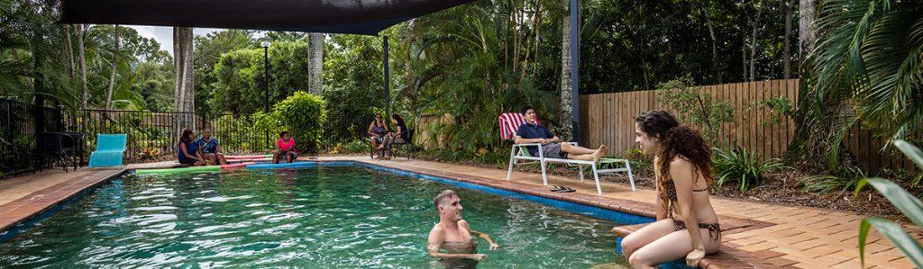 Cairns Student Lodge Resort Pool