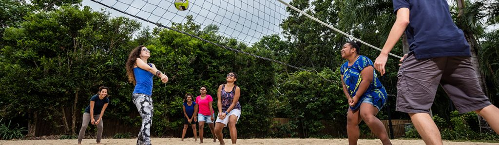 Cairns Student Lodge Volley Ball