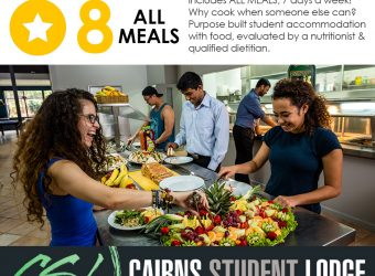 Reason Number 8 to Choose Cairns Student Lodge