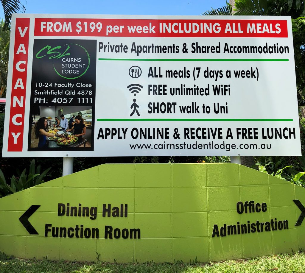 Cairns Student Lodge Vacancy