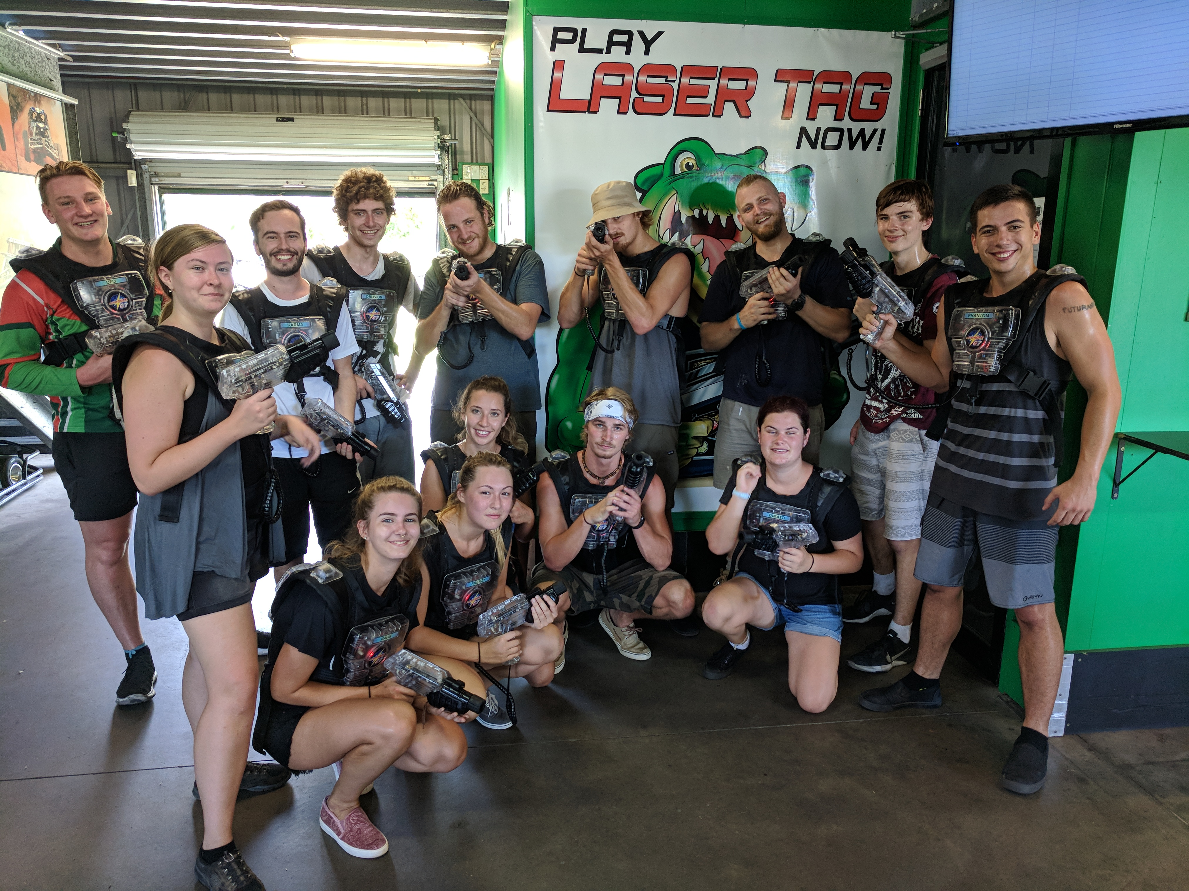 Go Karts and Laser Tag with Lodge Event Hub