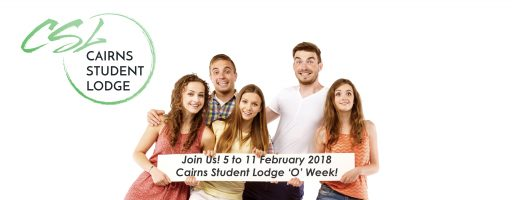 Cairns Student Lodge 'O' Week