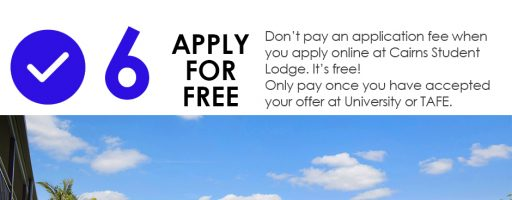 Reason Number 6 to Choose Cairns Student Lodge